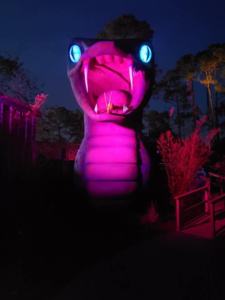 Yacuma statue at Swampy Jack
