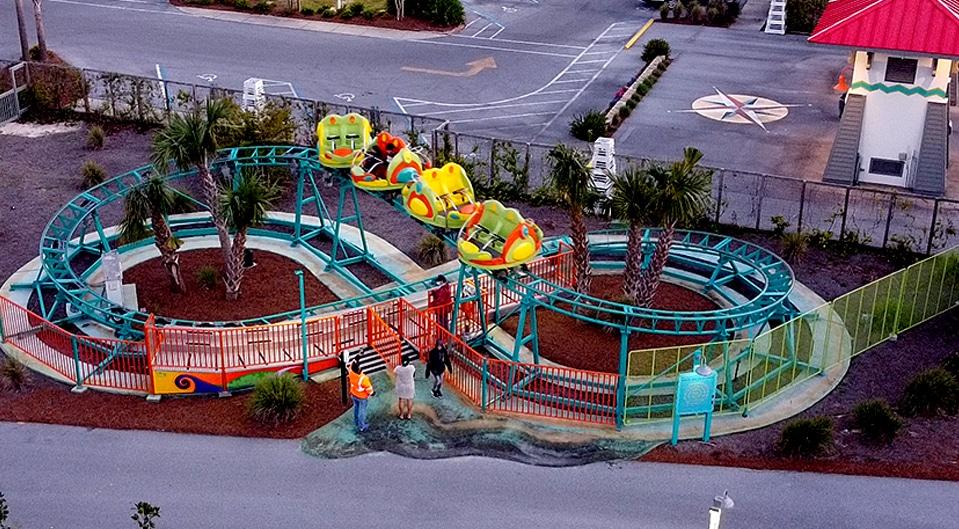 Spin Coaster at Swampy Jack